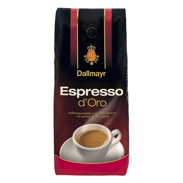 online shop f r kaffee und tee dallmayr espresso d oro. Black Bedroom Furniture Sets. Home Design Ideas