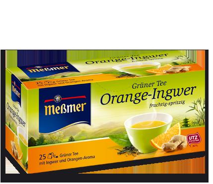 Grüner Kaffee Mit Ingwer shop für kaffee und meßmer grüner orange ingwer