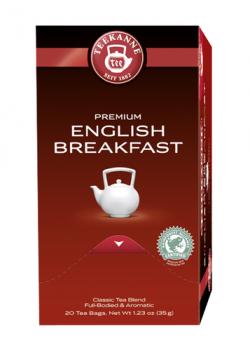 Teekanne Premium English Breakfast Schwarzer Tee