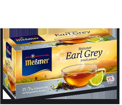 Meßmer Feinster Earl Grey Schwarzer Tee