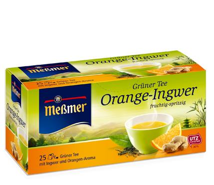 Meßmer Grüner Tee Orange-Ingwer