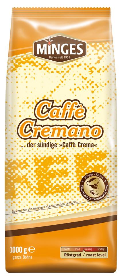 Minges Kaffeebohnen  Caffe Cremano