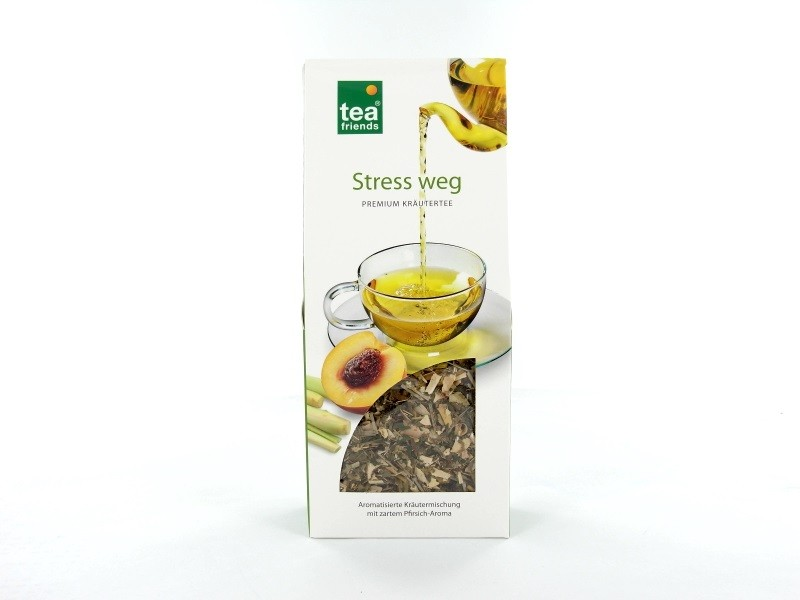 Tea-Friends Stress weg loser Tee