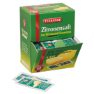Teekanne Zitronensaft Glasportion
