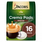 Jacobs Krönung Crema Pads kräftig, 16 Pads.
